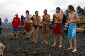 Hornby Island Fire Rescue well represented in 2011 polar bear swim
