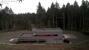 the new Fire Hall