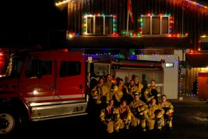 Merry Christmas from Hornby Island Fire Rescue